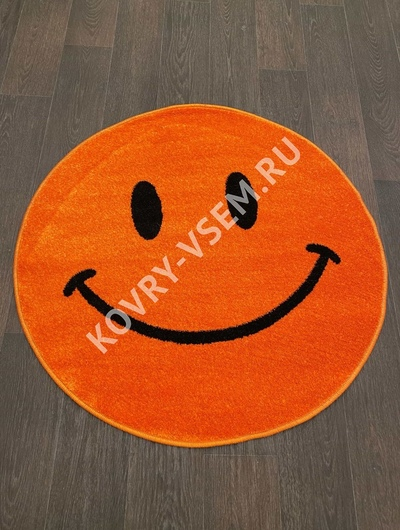 Ковер круг SMILE NC19 - ORANGE
